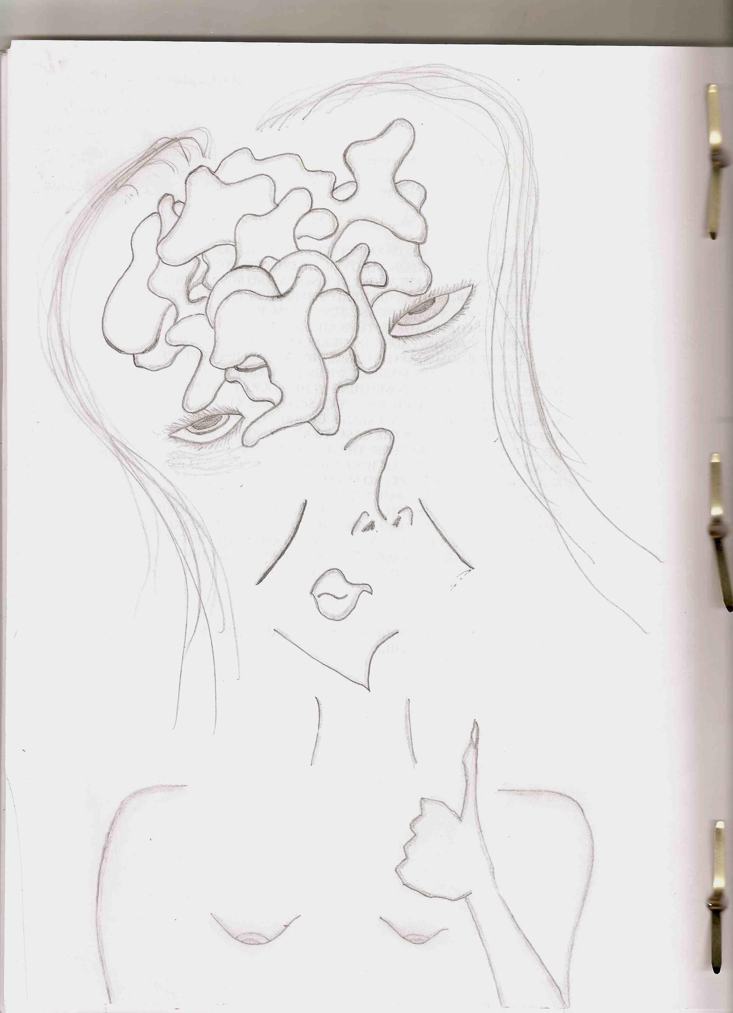 Blowjob drawing